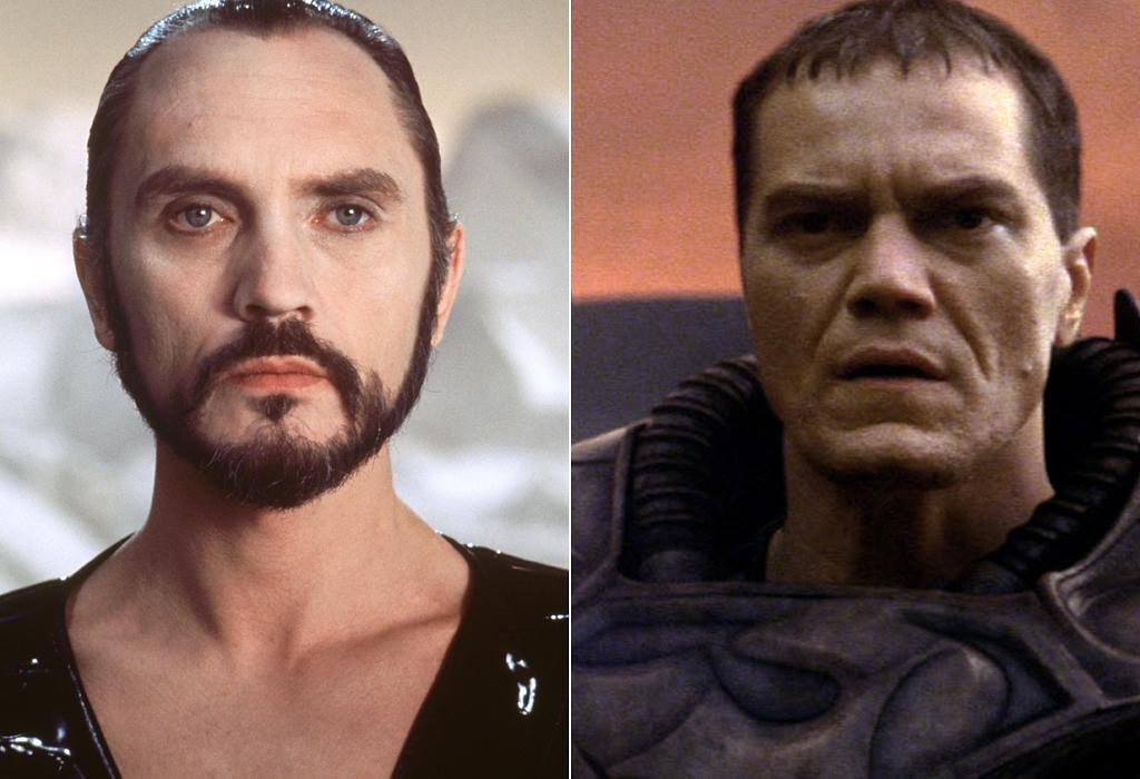 "<p class=""MsoNoSpacing""><b>ZOD</b></p>    <p class=""MsoNoSpacing"">Old Zod was played by a respected British stage actor who staked his claim in comic book movie villainy with his inimitable command of ""Kneel before Zod!"" New Zod is played by the guy who completely re-wrote the book on playing crazy. Terrence Stamp and <a href=""http://movies.yahoo.com/person/michael-shannon/"">Michael Shannon</a> are absolutely nothing alike ... and they're both more than worthy to play the nefarious Kryptonian general.</p>"