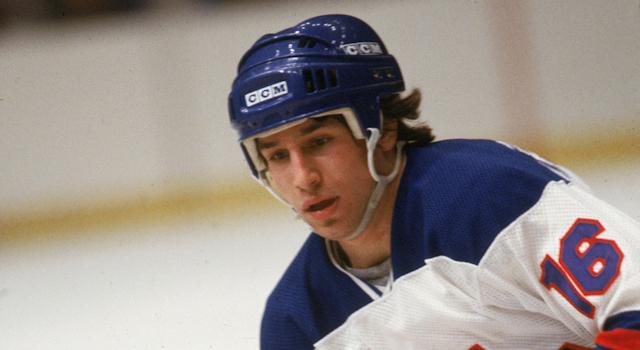 Mark Pavelich, seen here in a file photo from 1980, faced charges stemming from an incident over the summer in which he beat his neighbour. (Photo by Bruce Bennett Studios via Getty Images Studios/Getty Images)