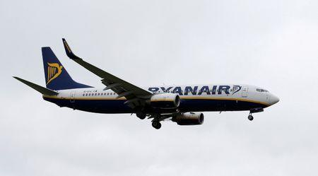 Ryanair Earnings Gain 55% on Strong Summer Bookings Trend