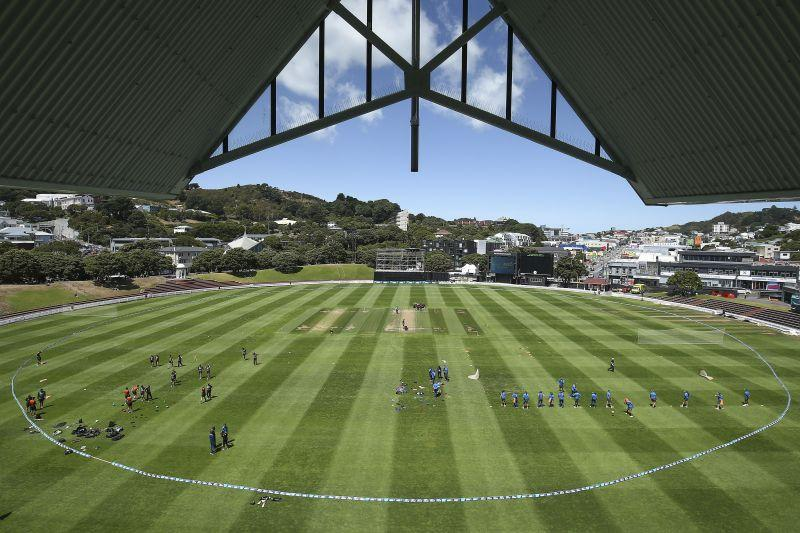 The pitch at Basin Reserve is known to be very flat