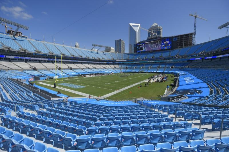 Panthers to allow limited fans beginning in Week 4