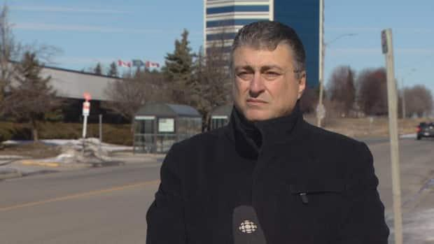 Bashar Masad, whose son's phone captured a Peel police officer making discriminatory remarks against him, says the lack of consequences for the officer is 'ridiculous.'  (Sue Reid/CBC - image credit)