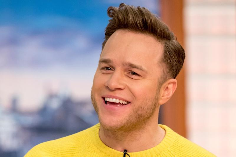 Wrapped Up: Olly Murs dismissed the idea of any bad blood with Simon Cowell - but admits they haven't spoken: Ken McKay/ITV/REX