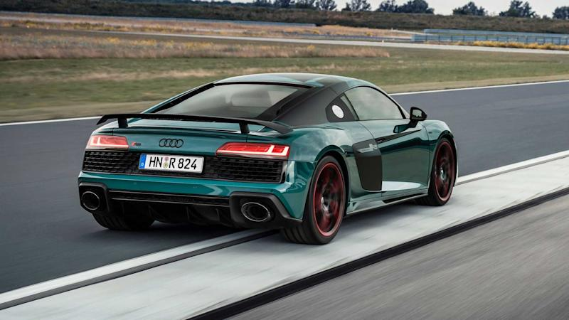 Audi R8 Green Hell Edition Arrière