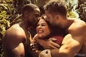 Sterling K. Brown, Chrissy Metz and Justin Hartley