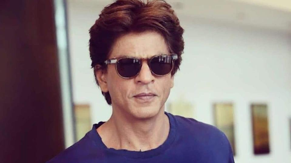 SRK tackles a question on being