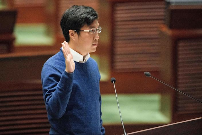 <p>Anyone who would breach the oath could be suspended pending a court hearing and would face potential disqualification under the amendment </p> (AFP via Getty Images)