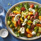 <p>For a gorgeous take on a classic caprese, make this healthy salad recipe with heirloom tomatoes in various colors, shapes and sizes. Swapping regular mozzarella for creamy burrata makes this summer salad even more special--but it's still incredibly easy to make.</p>