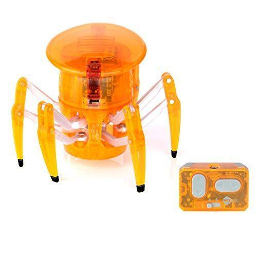 """<p><strong>HEXBUG</strong></p><p>amazon.com</p><p><strong>$23.98</strong></p><p><a href=""""https://www.amazon.com/dp/B004HL0A12?tag=syn-yahoo-20&ascsubtag=%5Bartid%7C10055.g.29419638%5Bsrc%7Cyahoo-us"""" rel=""""nofollow noopener"""" target=""""_blank"""" data-ylk=""""slk:Shop Now"""" class=""""link rapid-noclick-resp"""">Shop Now</a></p><p>This remote-controlled spider is small enough to fit right in your child's hand. Its see-through body allows kids to <strong>see the inner workings of a robot</strong><strong> to help promote STEM skills</strong> and interest. During past toy testing, kids definitely preferred playing with multiple Hexbug Spiders at the same time, since they can be controlled with the same remote. There's also a <a href=""""https://www.amazon.com/HEXBUG-Scorpion-Electronic-Autonomous-Robotic/dp/B07VL8G6G6?tag=syn-yahoo-20&ascsubtag=%5Bartid%7C10055.g.29419638%5Bsrc%7Cyahoo-us"""" rel=""""nofollow noopener"""" target=""""_blank"""" data-ylk=""""slk:Scorpion"""" class=""""link rapid-noclick-resp"""">Scorpion</a> version available that has similar functions. <em>Ages 5+</em></p>"""