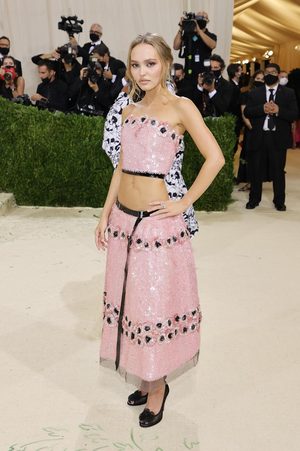"""<h1 class=""""title"""">Lily-Rose Depp in Chanel</h1><cite class=""""credit"""">Photo: Getty Images</cite>"""