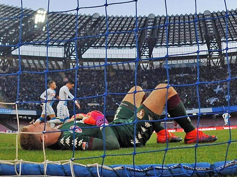 Hart has endured a difficult season in Italy (Getty)