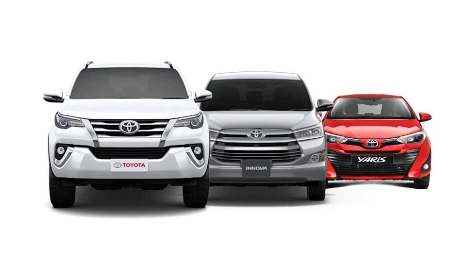 Attractive discounts and offers announced on these Toyota cars