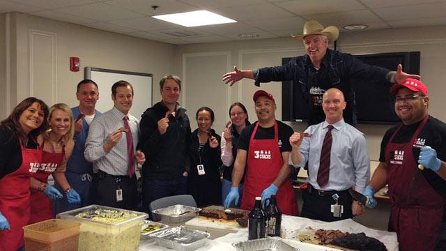 Hospitals Exchange BBQ, Pizza After Disasters in Boston and West, Texas