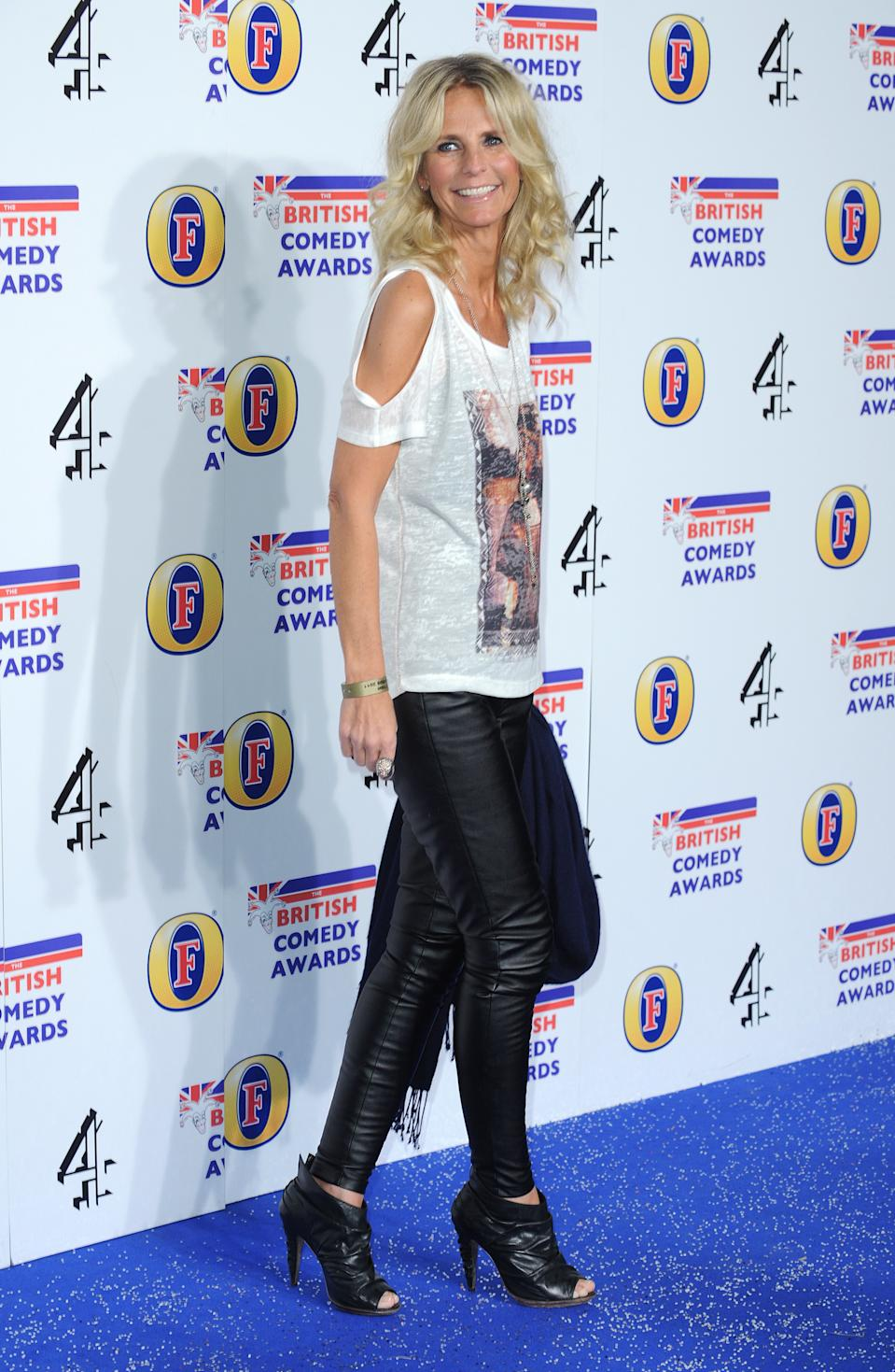 Ulrika Jonsson arriving at The British Comedy Awards 2011, Fountain Studios, Wembley, London.