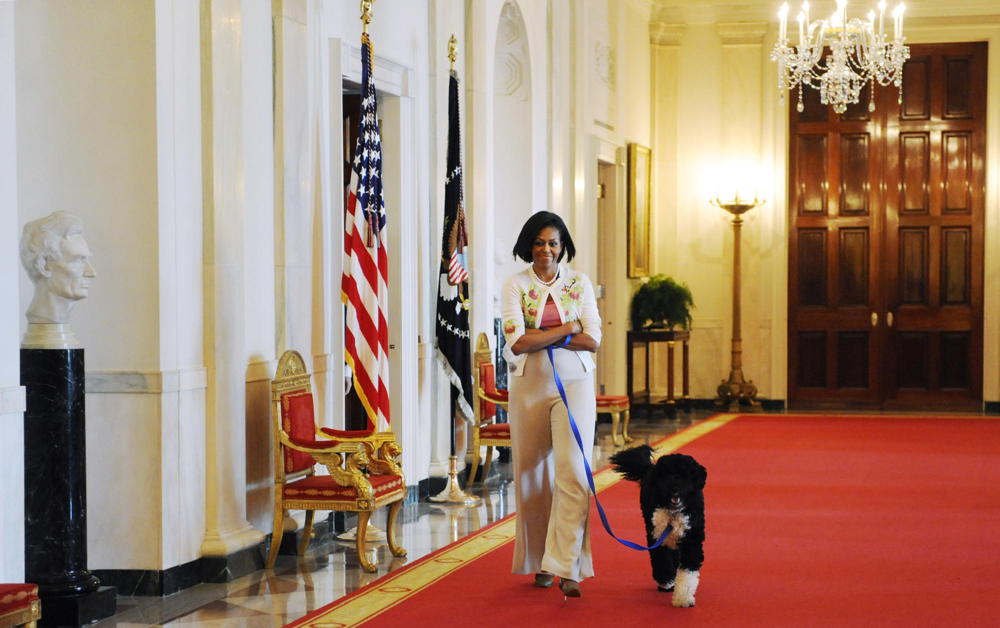 Michelle Obama, Dolly Parton and other stars celebrate National Pet Day