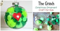 "<p>Get the kids involved with this sweet Grinch-inspired craft. The ornament makes for a great gift for teachers, friends, or anyone who needs a little dose of the Grinch spirit!</p><p><strong>Get the tutorial at <a href=""https://buggyandbuddy.com/grinch-christmas-ornament-craft-kids/"" rel=""nofollow noopener"" target=""_blank"" data-ylk=""slk:Buggy and Buddy"" class=""link rapid-noclick-resp"">Buggy and Buddy</a>.</strong></p><p><strong><a class=""link rapid-noclick-resp"" href=""https://www.amazon.com/Colorations-POMGR-Pom-Poms-Green-Pack/dp/B00LG5AEJA/ref=sr_1_5?dchild=1&keywords=small+green+pom+poms&qid=1603062431&sr=8-5&tag=syn-yahoo-20&ascsubtag=%5Bartid%7C10050.g.28982778%5Bsrc%7Cyahoo-us"" rel=""nofollow noopener"" target=""_blank"" data-ylk=""slk:SHOP GREEN POM POMS"">SHOP GREEN POM POMS</a><br></strong></p>"