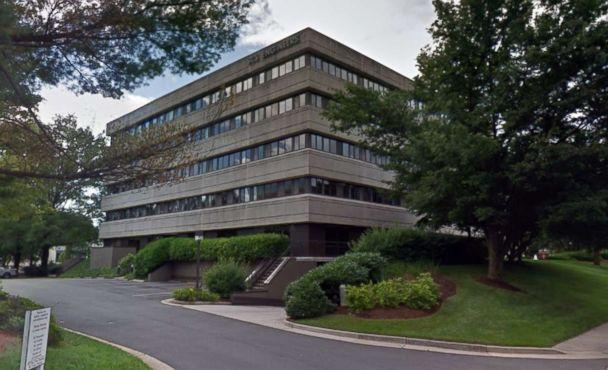PHOTO: The office building at the Reston, Va. address for Parabon NanoLabs is pictured in a Google Street View image in 2018. (Google Maps Street View)