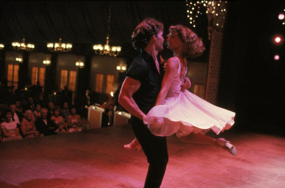 "<p>The chemistry between Patrick Swayze and Jennifer Gray is what makes <em>Dirty Dancing</em> a classic. My God, that man and his arms and his torso and his eyes and his moves…sorry, where were we? Anyway, yes, their chemistry. And let's not forget the soundtrack, the setting, and the coming-of-age love story that so many of us couldn't get enough of. — <em>Jessica Radloff, west coast editor</em></p> <p><a href=""https://www.amazon.com/gp/video/detail/amzn1.dv.gti.acb74292-607a-785c-f76c-c0bf59d41ecb?autoplay=1"" rel=""nofollow noopener"" target=""_blank"" data-ylk=""slk:Stream here"" class=""link rapid-noclick-resp""><em>Stream here</em></a></p>"