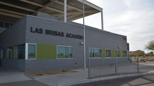 This police photo shows the exterior of the Las Brisas Academy in Goodyear, Arizona. (Goodyear Police Department)