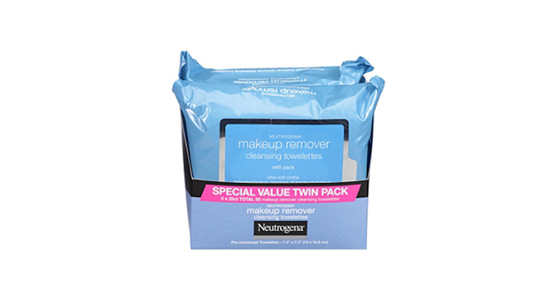 Neutrogena Makeup Remover Cleansing Towelettes Twin-Pack (Credit: Ulta)
