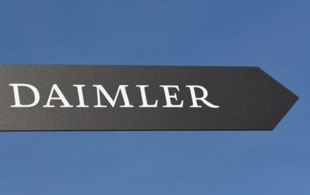 Daimler shares seen falling 3.5 percent after excess emissions report