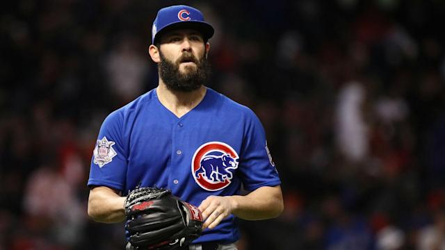 "Could <a class=""link rapid-noclick-resp"" href=""/mlb/players/8623/"" data-ylk=""slk:Jake Arrieta"">Jake Arrieta</a> be the high-end starter the Astros are looking for? (AP)"