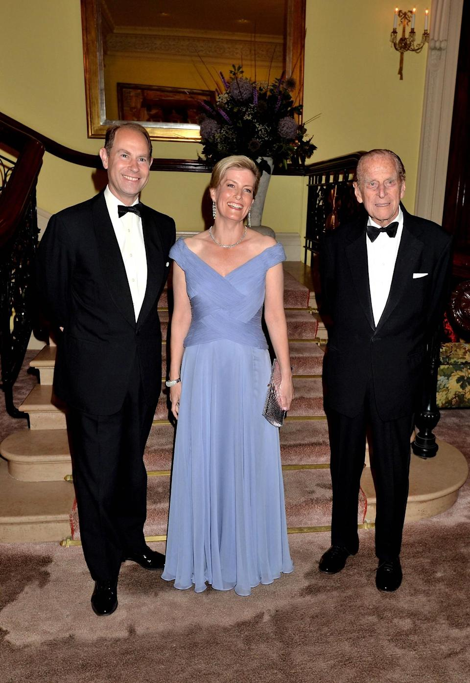 <p>Sophie is a stalwart of the British monarchy, appearing pretty much everywhere that the Queen does. Her style can be described as that of a classic royal's with elegant gowns and impeccable tailoring taking precedence. <i>[Photo: Getty]</i> </p>