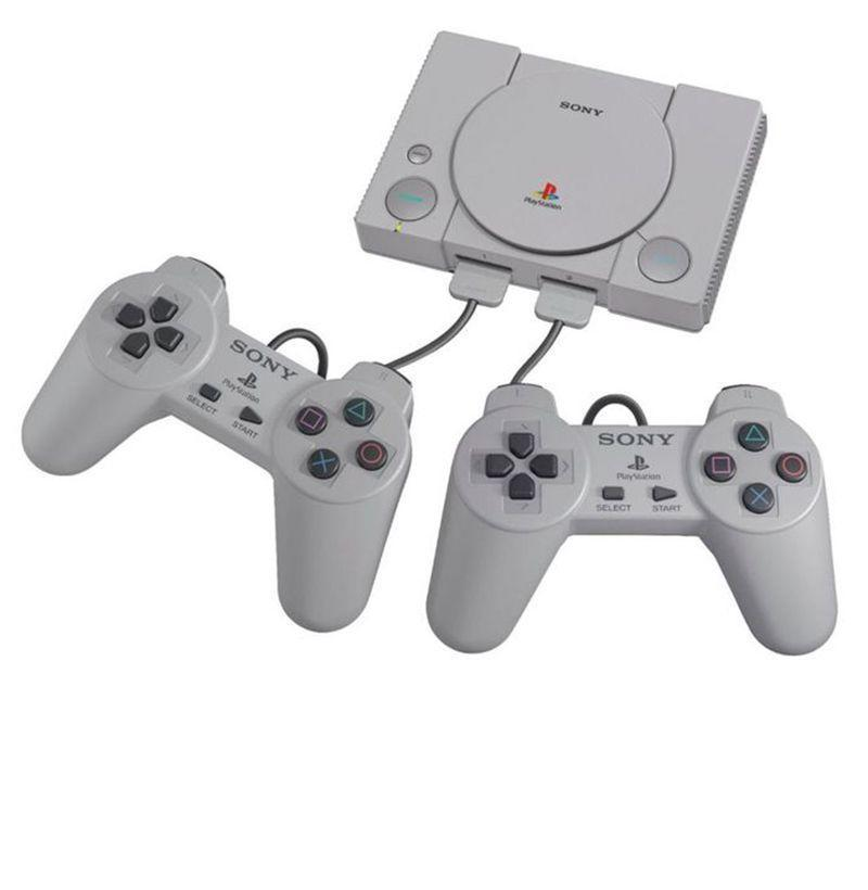 """<p><strong>Sony</strong></p><p>amazon.com</p><p><strong>$67.75</strong></p><p><a href=""""https://www.amazon.com/PlayStation-Classic-Console/dp/B07HHVF2XG/?tag=syn-yahoo-20&ascsubtag=%5Bartid%7C10054.g.14381053%5Bsrc%7Cyahoo-us"""" rel=""""nofollow noopener"""" target=""""_blank"""" data-ylk=""""slk:Buy"""" class=""""link rapid-noclick-resp"""">Buy</a></p><p>Sony's PlayStation Classic brings back 20 retro titles and two original controllers in a blast from the past that anyone who's ever blown the dust off a cartridge will love.</p>"""