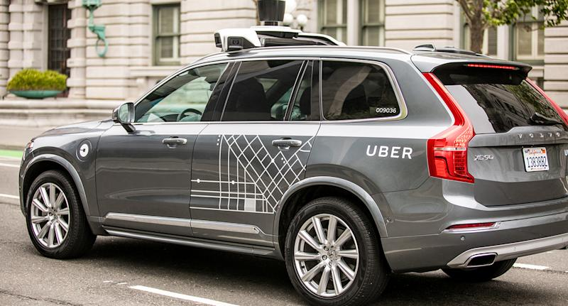 Driverless Uber software