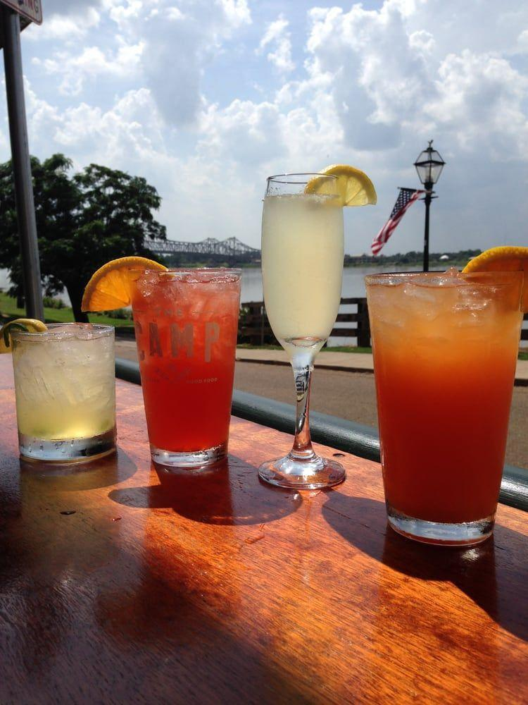 """<p><a href=""""http://www.yelp.com/biz/the-camp-natchez"""" rel=""""nofollow noopener"""" target=""""_blank"""" data-ylk=""""slk:The Camp"""" class=""""link rapid-noclick-resp"""">The Camp</a>, Natchez</p><p>""""By far the best place to get a great meal and enjoy beautiful sunsets in Natchez. The BBQ pork tacos are amazing and the homemade pickles are to die for. Both the Camparita and the Bees Sting cocktails are spicy and flavorful. The beer selection is the best in town. Great staff and service (which was really hard to find in Natchez)."""" - Yelp user <a href=""""https://www.yelp.com/user_details?userid=ywQaPdUG1_mLKsWpVBkvrg"""" rel=""""nofollow noopener"""" target=""""_blank"""" data-ylk=""""slk:Katie H."""" class=""""link rapid-noclick-resp"""">Katie H.</a></p>"""