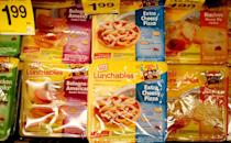 <p>Lunchables, the beloved childhood snack box, were all over the place by 1988. These made lunch prep a breeze, as they had pizza, hot dogs, chips and crackers, deli meat, and sweets for kids to nosh on.</p>