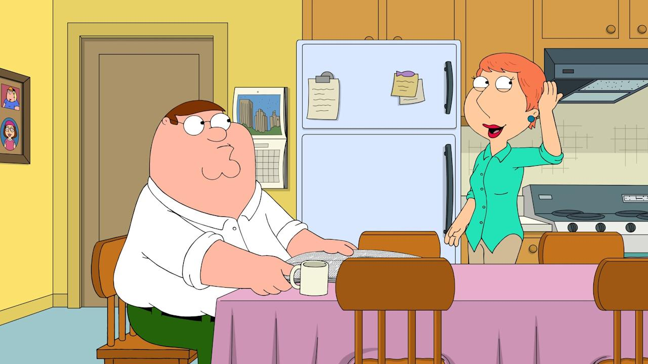 """<p>There are a whopping 18 seasons currently available of this long-running animation staple, which centers on the misadventures of a clueless dad and his oddball family and community.</p> <p><a href=""""http://www.hulu.com/series/family-guy-3c3c0f8b-7366-4d15-88ab-18050285978e"""" target=""""_blank"""" class=""""ga-track"""" data-ga-category=""""Related"""" data-ga-label=""""http://www.hulu.com/series/family-guy-3c3c0f8b-7366-4d15-88ab-18050285978e"""" data-ga-action=""""In-Line Links"""">Watch <strong>Family Guy</strong> on Hulu.</a></p>"""