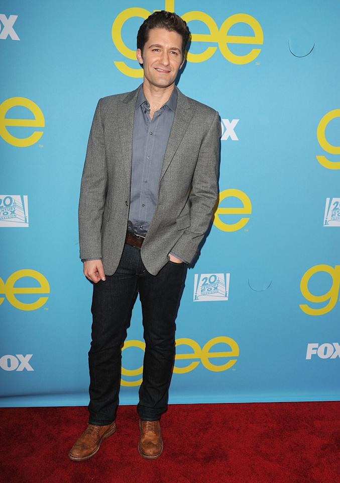 "Matthew Morrison attends a special screening of ""<a target=""_blank"" href=""http://tv.yahoo.com/glee/show/44113"">Glee</a>""  hosted by The Academy of Television Arts & Sciences at Leonard H.  Goldenson Theatre on May 1, 2012 in North Hollywood, California."