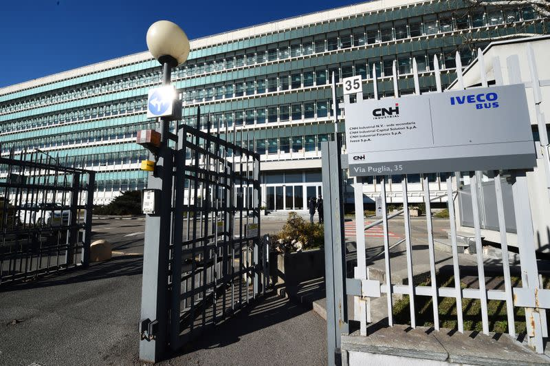 CNH Industrial temporarily halts four plants in Italy to fight virus