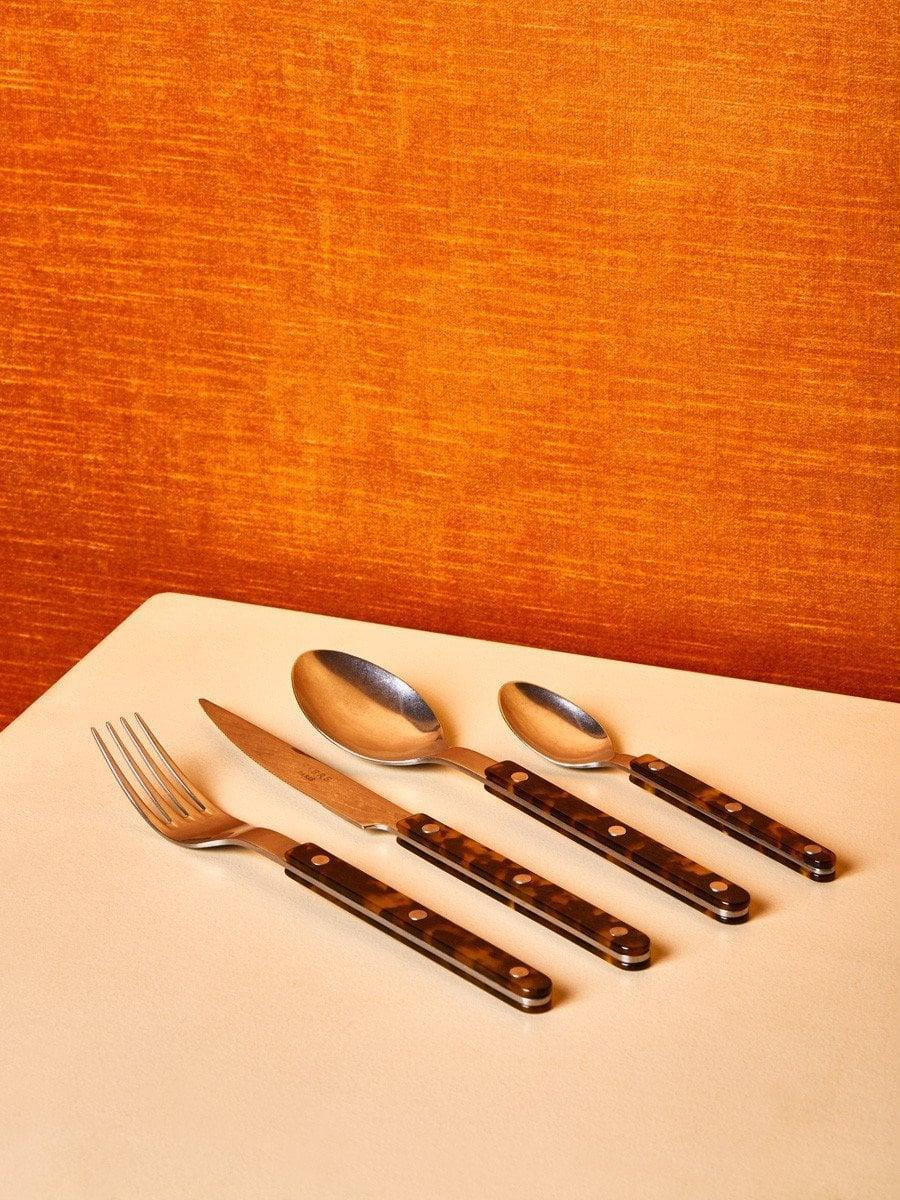 <p>This <span>Coming Soon New York Tortoise Flatware Set</span> ($19 each) will add so much elegance to your silverware game.</p>