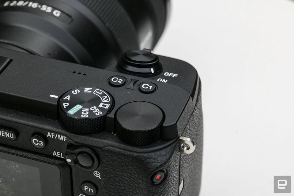 Sony A6600 APS-C mirrorless camera