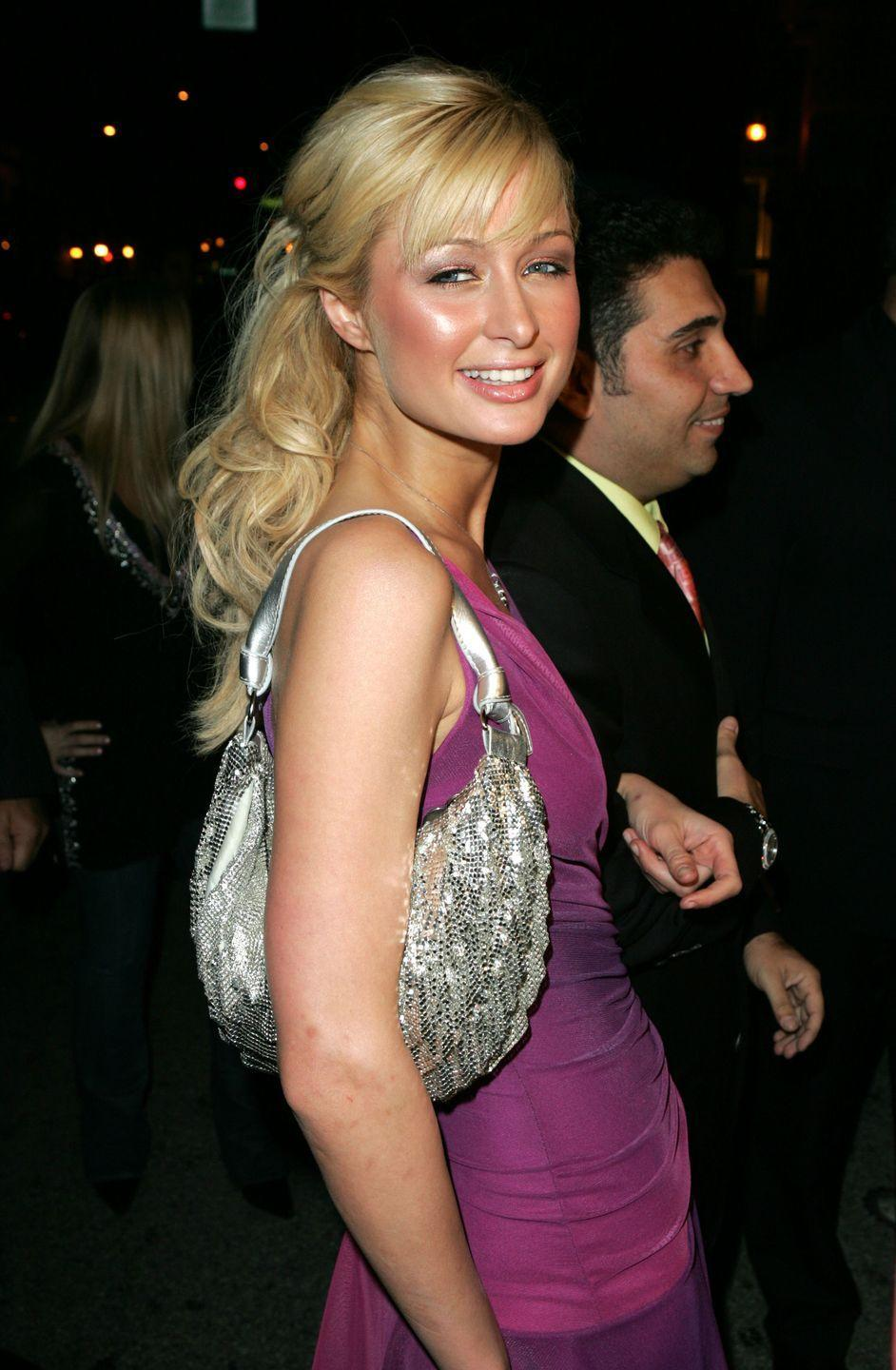"""<p>The year 2004 was a simpler time, when everything was bedazzled in sequins. It was basically the material everyone—including Paris Hilton—gravitated toward when picking their """"going out"""" ensemble for the night. </p>"""