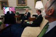 U.S. President Joe Biden meets with Ireland's Prime Minister Micheal Martin