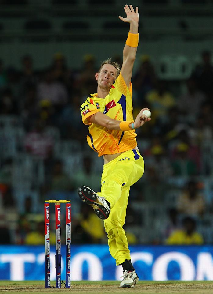 Chris Morris during match 45 of the Pepsi Indian Premier League between The Chennai Superkings and the Kings XI Punjab held at the MA Chidambaram Stadium in Chennai on the 2nd May 2013..Photo by Ron Gaunt-IPL-SPORTZPICS   .. .Use of this image is subject to the terms and conditions as outlined by the BCCI. These terms can be found by following this link:..https://ec.yimg.com/ec?url=http%3a%2f%2fwww.sportzpics.co.za%2fimage%2fI0000SoRagM2cIEc&t=1490280349&sig=_mSKv8BQ2mZTB0oJ18Kbvg--~C