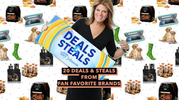PHOTO: 20 Deals and Steals from Fan Favorite Brands (ABC News Photo Illustration, Phonesoap, Tristar, Nest, Wolferman's, That Pillow Guy)
