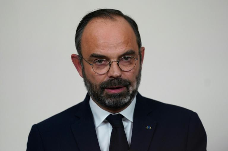 French Prime Minister Edouard Philippe offered a compromise to the strikers (AFP Photo/MARTIN BUREAU)
