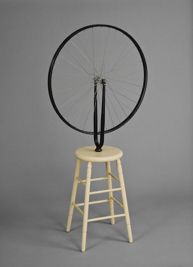 Marcel Duchamp, 'Bicycle Wheel', 1913, 6th version 1964 (Photo © Ottawa, National Gallery of Canada / © Succession Marcel Duchamp/ADAGP, Paris and DACS, London 2017)