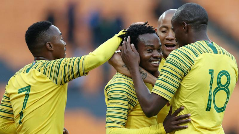 South Africa 1-1 Paraguay: Percy Tau's late goal rescues Bafana Bafana