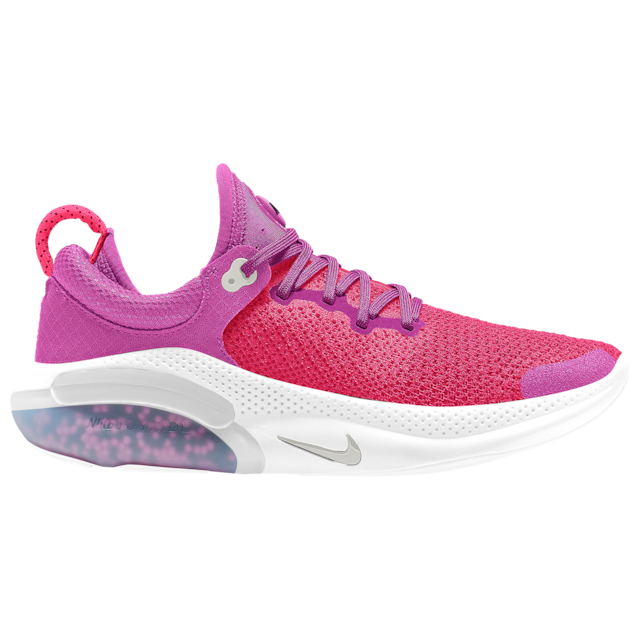 """<p><strong>Nike</strong></p><p>footlocker.com</p><p><strong>$180.00</strong></p><p><a href=""""https://go.redirectingat.com?id=74968X1596630&url=https%3A%2F%2Fwww.footlocker.com%2Fproduct%2Fnike-joyride-run-flyknit-womens%2FQ2731603.html&sref=https%3A%2F%2Fwww.harpersbazaar.com%2Ffashion%2Ftrends%2Fg33234271%2Fcute-running-shoes-for-women%2F"""" rel=""""nofollow noopener"""" target=""""_blank"""" data-ylk=""""slk:Shop Now"""" class=""""link rapid-noclick-resp"""">Shop Now</a></p><p>The name of this bright sneaker says it all. </p>"""
