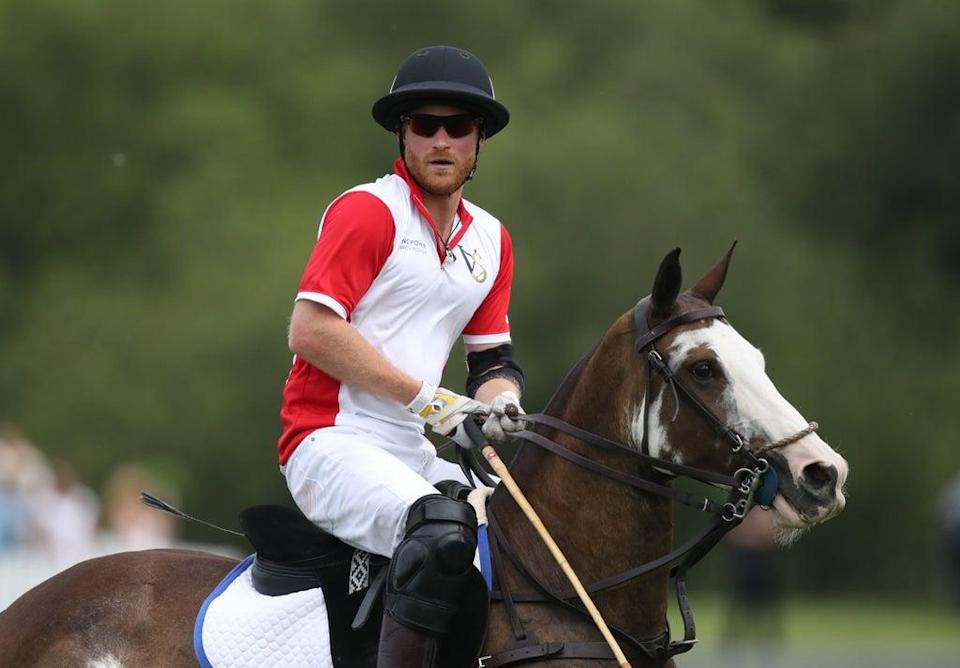 The Duke of Sussex is playing in a charity polo match (Andrew Matthews/PA) (PA Archive)
