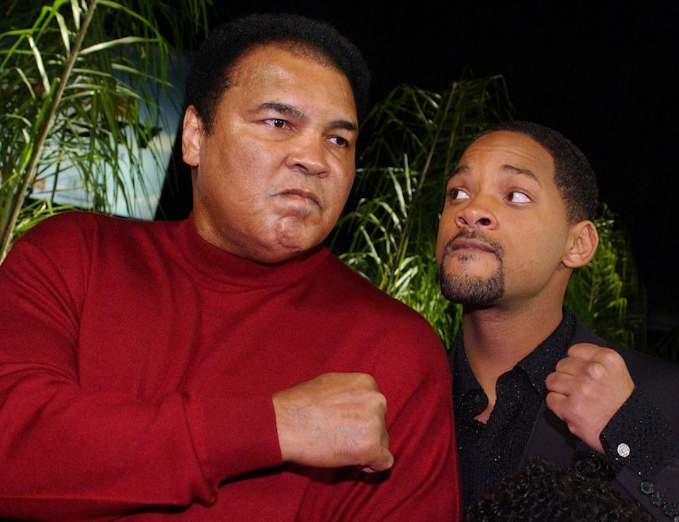 <p>Will Smith played professional boxer Muhammad Ali in the 2001 movie about his life, <em>Ali</em>. </p>