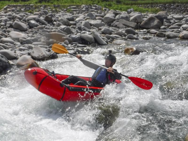 Don't read this if you're scared of heights or water: packrafting along the world's highest aqueduct in a 2kg boat