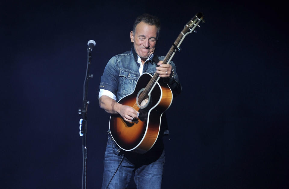 Bruce Springsteen is opening up further about his mental health. (Photo: Brad Barket/Invision/AP)