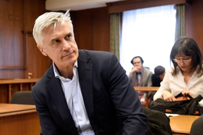 "<div class=""inline-image__caption""><p>U.S. investor Michael Calvey, the head of investment company Baring Vostok, detained on fraud charges, attends an appeal hearing over the extention of his house arrest in Moscow on February 10, 2020.</p></div> <div class=""inline-image__credit"">ALEXANDER NEMENOV/AFP via Getty Images</div>"