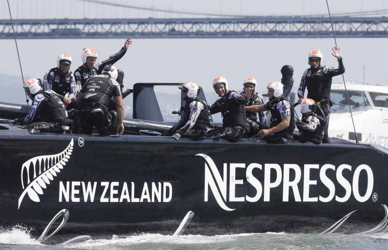 Sailing mad New Zealand on edge for America's Cup
